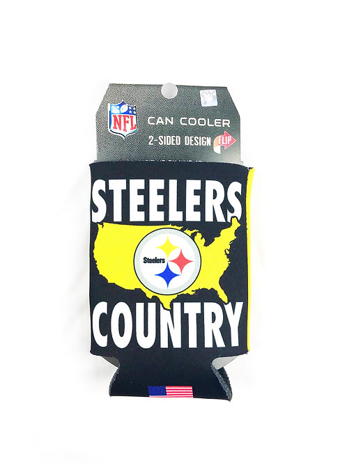 Steelers Country Can Cooler