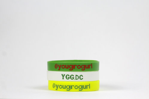 3 pack YGG Wristband