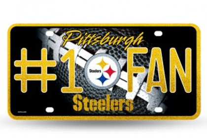 Steelers License Plate