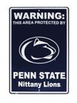 """""""PROTECTED BY PENN STATE"""" SIGN"""