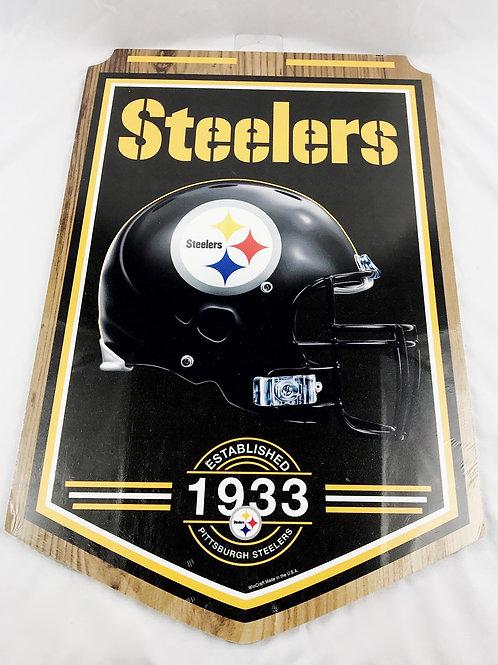 Steelers Est. 1993 Wooden Sign