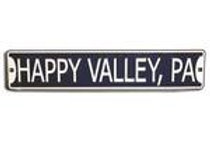 Happy Valley Pa Metal Sign