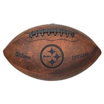 Steelers Leather Football