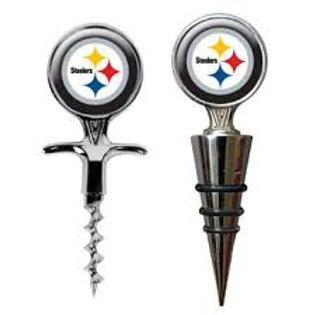 Steelers Wine Set