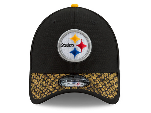 Pittsburgh Steelers New Era 2017 Official NFL Sideline 39THIRTY Cap