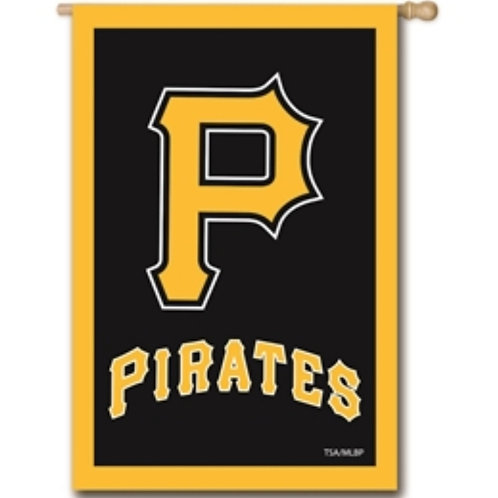 Pittsburgh Pirates Embroidered Flag 28x44