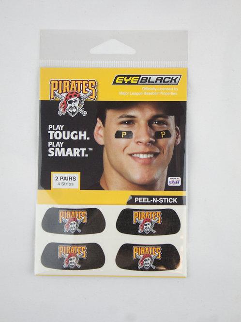 Pittsburgh Pirates Logo Eye Black