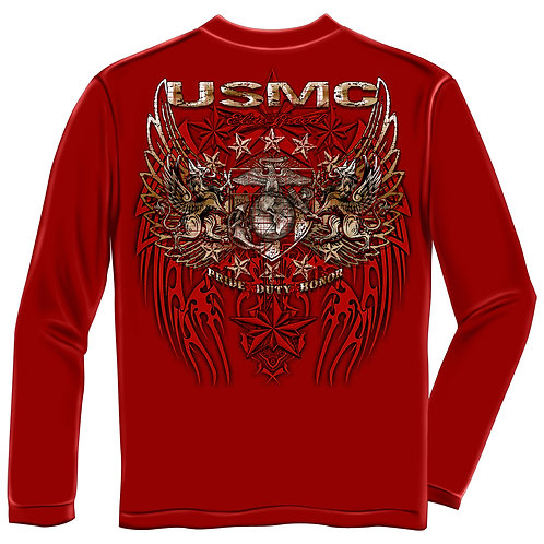 USMC Long Sleeve Tee