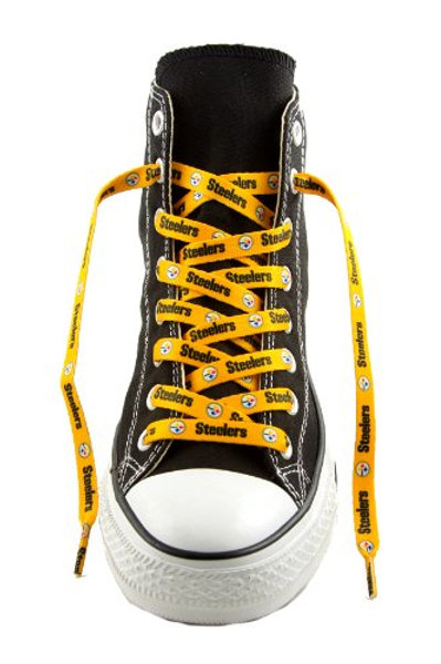 Steelers Gold Shoe Laces
