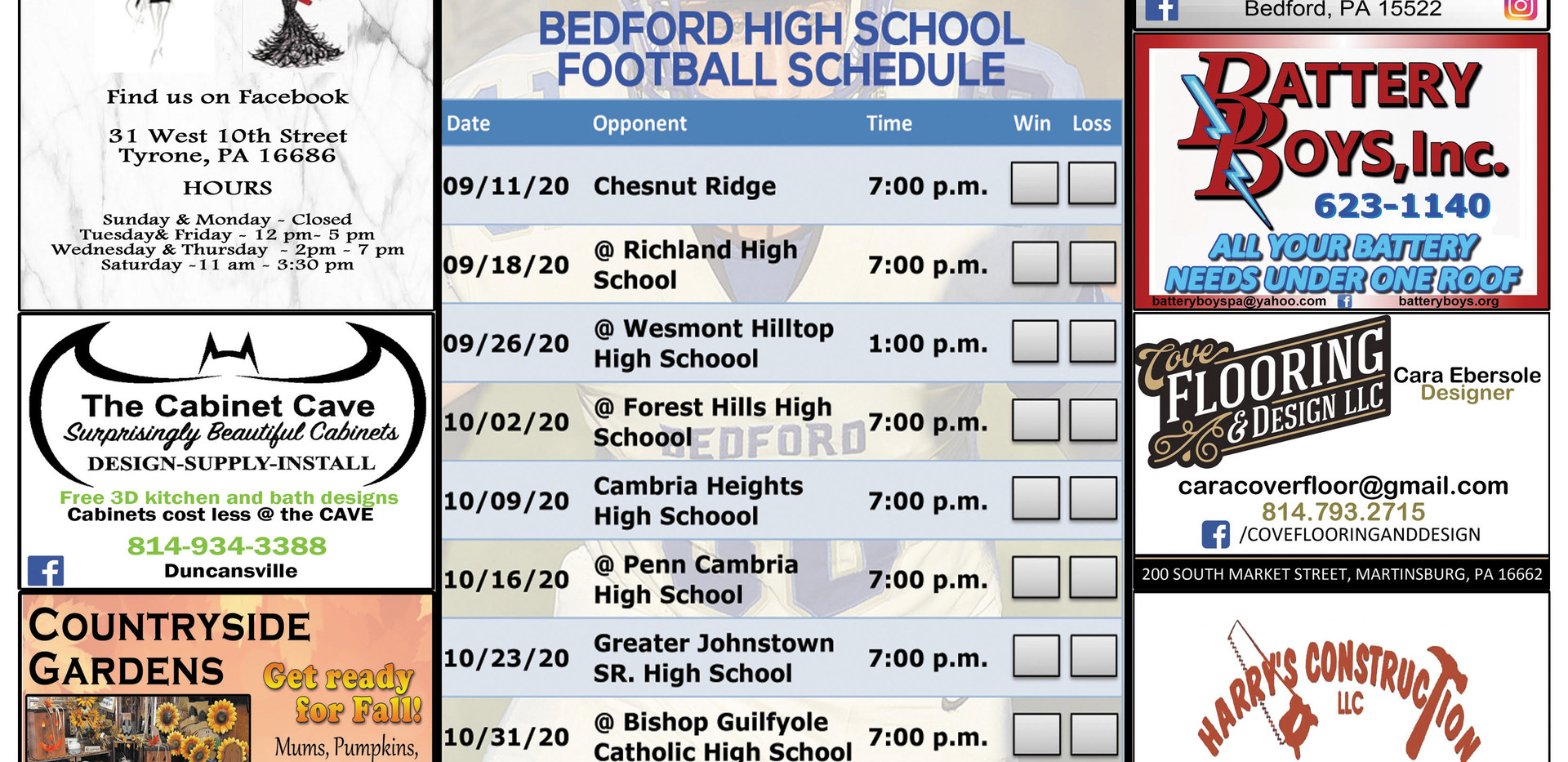 Bedford football schedule sept 2020.jpg