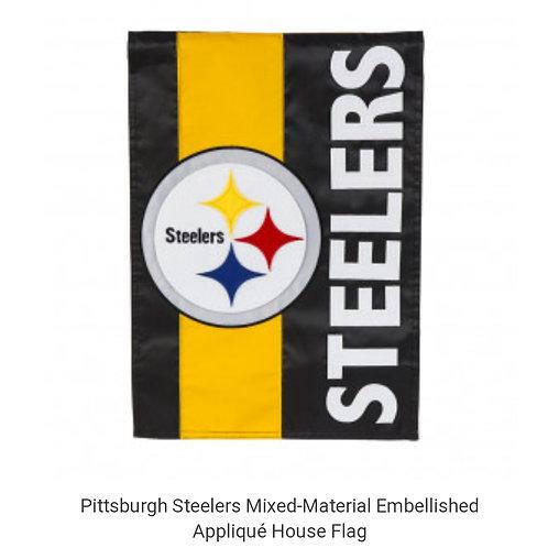 Steelers House Flag