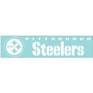 Steelers Decal 4x16in