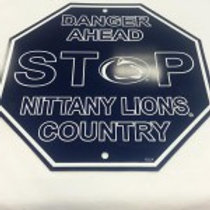 PENN STATE PLASTIC STOP SIGN