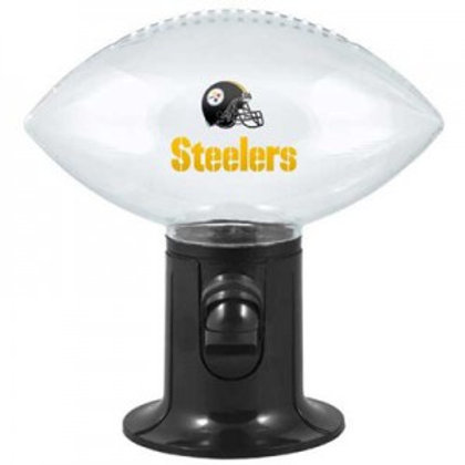 Pittsburgh Steelers Clear Football Snack Dispenser