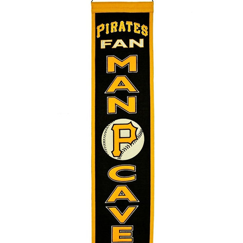 Pittsburgh Pirates Wool Banner 8x32
