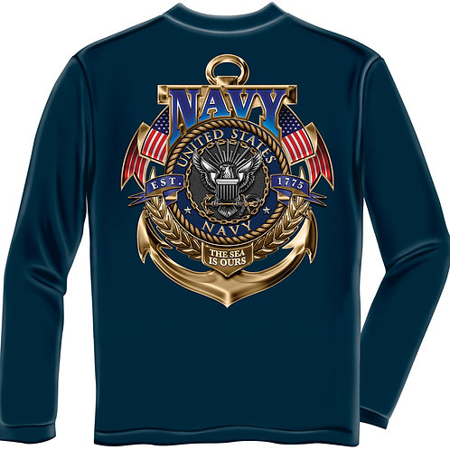 US Navy Long Sleeve Shirt
