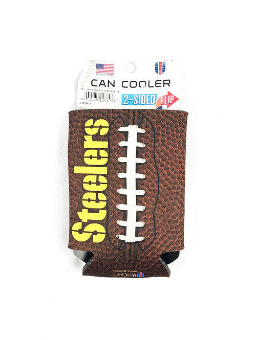 Steelers Football Can Cooler