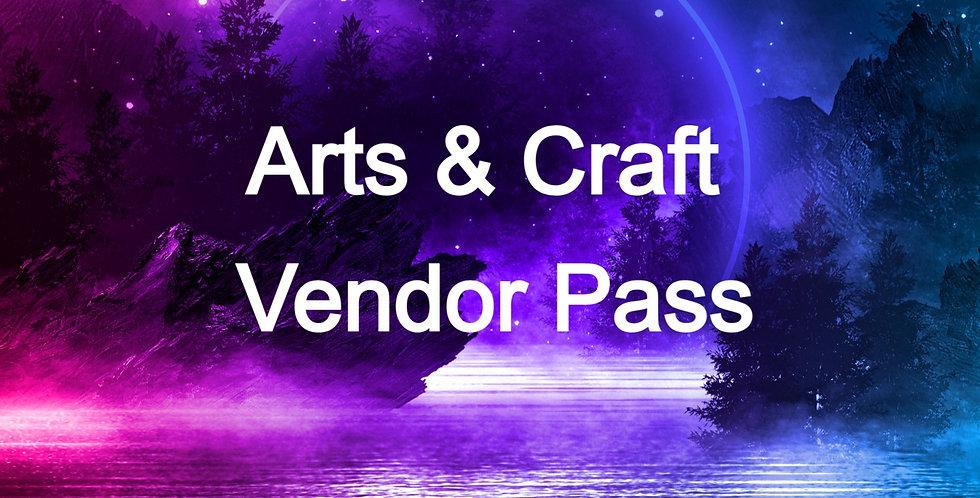ARTS & CRAFT VENDOR PASS