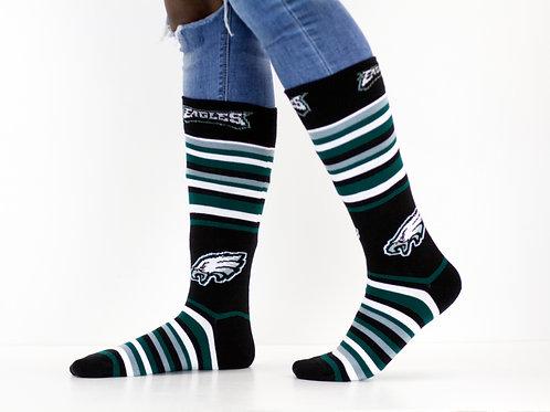 Striped Eagles Socks