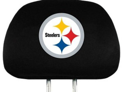 Steelers Head Rest Cover