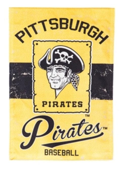 Pittsburgh Pirates Vintage 28x44 Flag
