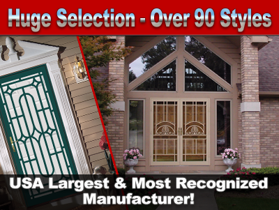 Huge Selection Of Security Doors & Options