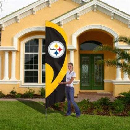 Steelers 8.5 FT Flag