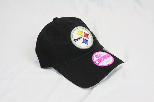 Steelers Logo New Era 9 Twenty Hat
