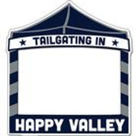 """Tailgating in Happy Valley"" Magnetic Picture Frame"