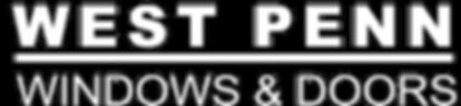 West Penn Windows & Doors Text Logo