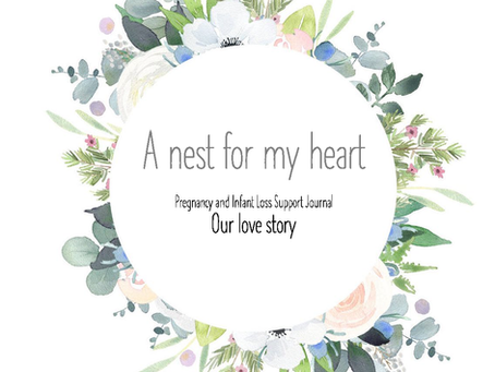 """HOLIDAY GIVEAWAY - """"A Nest for my Heart"""" - Three Little Birds Pregnancy & Infant Loss Journal"""