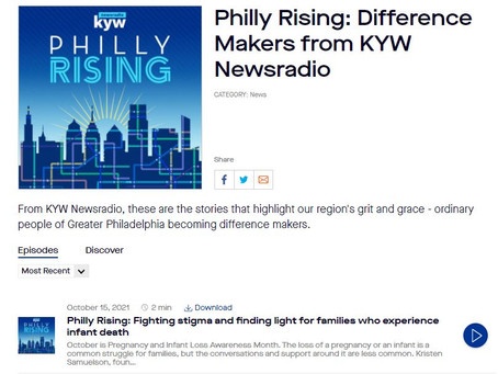 """Three Little Birds featured as """"Difference Maker"""" by KYW Newsradio"""