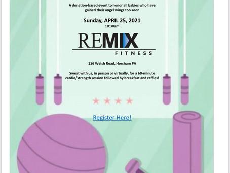 AEROBICS FOR AUBREY FUNDRAISER! April 25 at Remix Fitness!