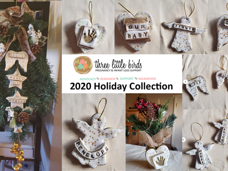 Three Little Birds Holiday Collection 2020 is now available on Etsy!