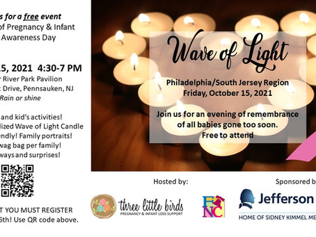 4th Annual Wave of Light Details!