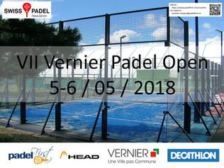 Vernier Padel Open 5&6/05/2018