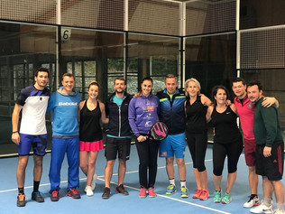 Gaby Reca Padel Workshop - Un Succès !