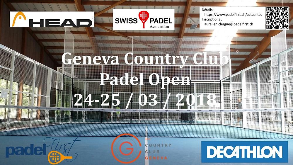 Country Club Geneva Padel Open