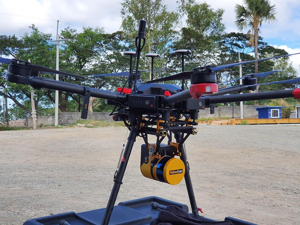 yellowscan-surveyor-lidar-mounted-dji-m600-pro