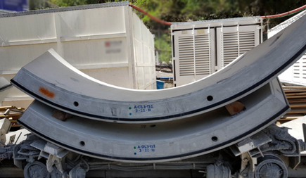 Fabrication and Delivery of Tunnel Segments, AW TIP