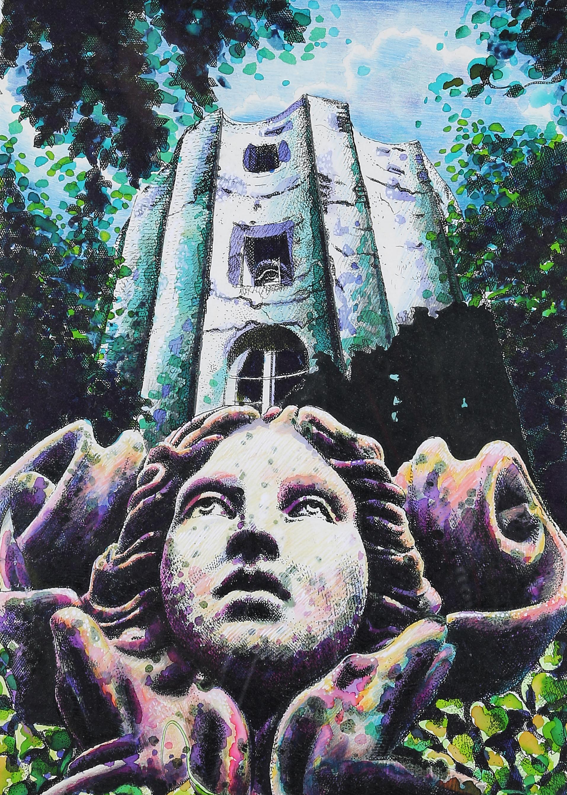 L'ange de la tour