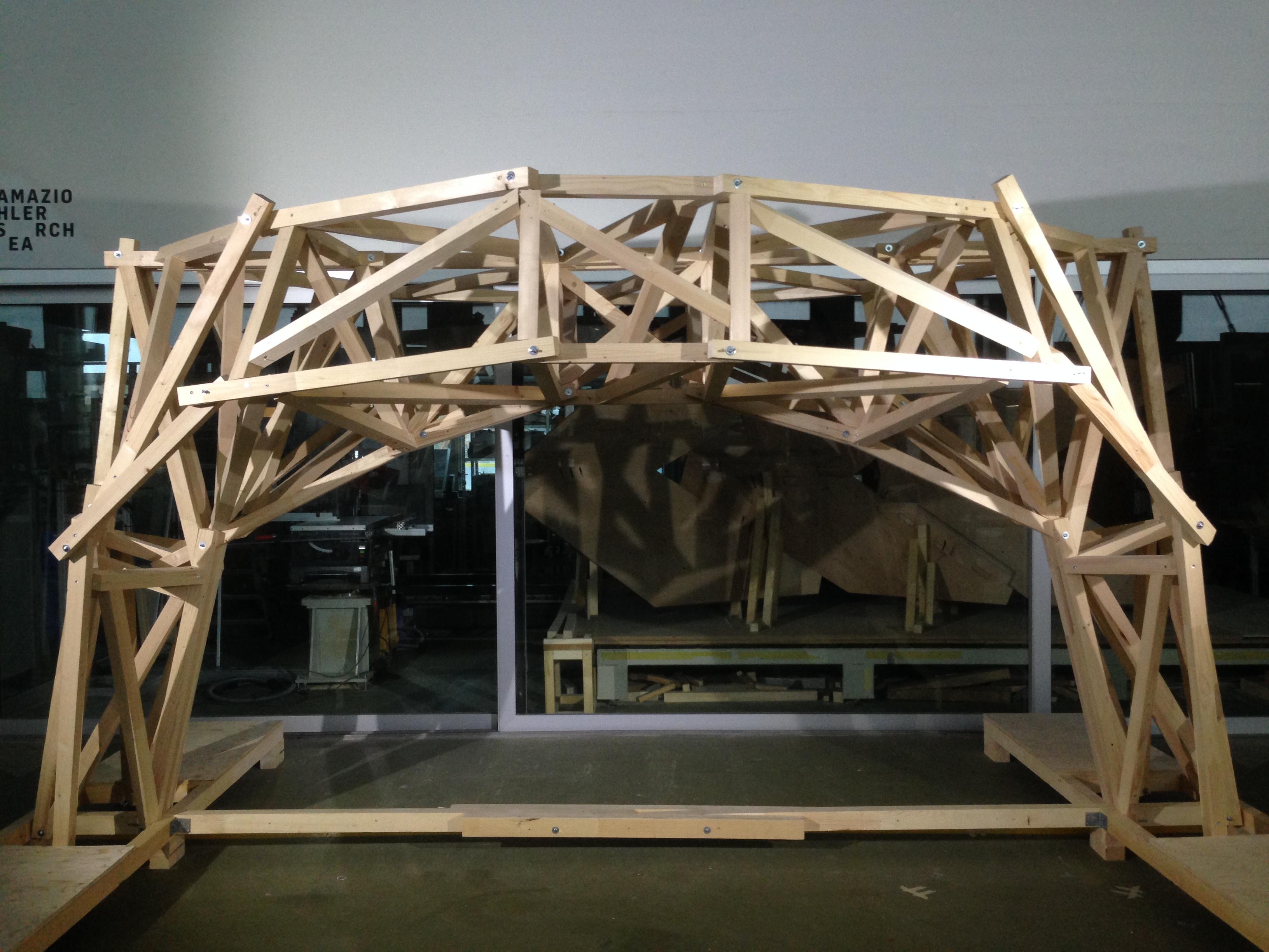 Digitally Fabricated Arch