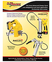 Lumax Grease Gun Flyer