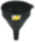 LX-1606 Lumax 2 Quart Plastic funnel