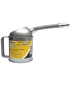 LX-1524 Galvanized Measure Can with Flex Spout