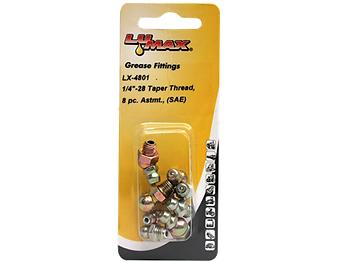 LX-4801 Lumax 8 Piece Assortment Taper Thread