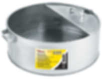 LX-1710 6 Gallon Galvanized Metal Drain Pan