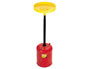 LX-1712 Lumax 5 Gallon Metal Oil Lift Drain Pan