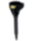 LX-1609 Lumax 1 Quart Plastic 2 piece Funnel with flex spout