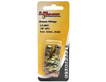 LX-4803 Lumax 8 Piece Assortment Taper Thread